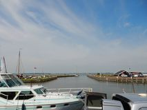 Marken in Holland harbour Royalty Free Stock Photo
