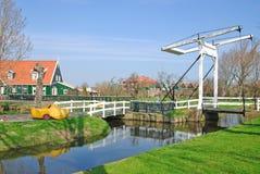 Marken,Ijsselmeer,Netherlands. The famous idyllic Village of Marken near Volendam,Ijsselmeer,netherlands Royalty Free Stock Photo