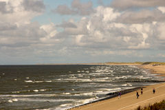 Marken Island. Clouds sky holland near to amsterdam sea Stock Photo