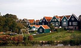 Marken island, Netherlands Stock Photos