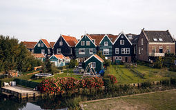 Marken island, Netherlands Stock Photos