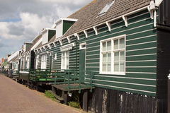 Marken Island. Village clouds sky holland near to amsterdam Royalty Free Stock Photography