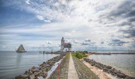 Marken latarnia morska Obraz Stock