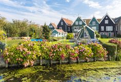 Marken, Netherlands. Royalty Free Stock Photos