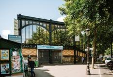 Marken-Saint Quentin in Paris, Frankreich Lizenzfreies Stockfoto
