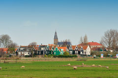 Marken a small village near Amsterdam Stock Images