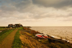 Marken a small village near Amsterdam Stock Image