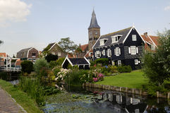 Marken, traditional dutch village, Netherlands Royalty Free Stock Photography
