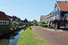 Marken wyspa holandie obrazy royalty free