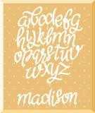 Marker alphabet set, vector illustration EPS. vector illustration