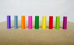 Marker caps Stock Photo