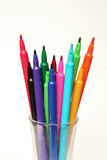 Marker color pen Royalty Free Stock Photos