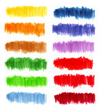 Marker color set Royalty Free Stock Photos