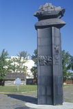 Marker of the first Swedish settlement in United States,  Fort Christiana, Wilmington, DE Stock Photography