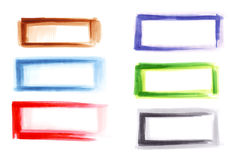Marker frames Stock Image