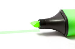 Marker. Highlighter in a white background Stock Photography