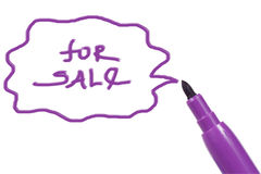 Marker pen Royalty Free Stock Images