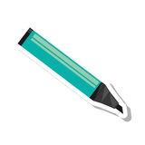 Marker pen isolated icon Royalty Free Stock Photography