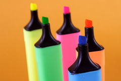 Marker pens Royalty Free Stock Photos