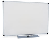 Marker White board. Room for text or copy space on a white background Stock Images