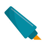 Marker write school utensil Stock Photo