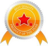 Markera av kvalitets- Arkivfoto