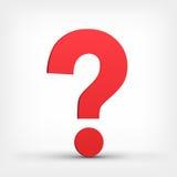 markera frågan royaltyfria bilder