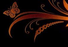Markerad laser-gravyr på glass yttersida royaltyfria bilder