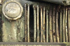 markerar den rostiga lastbilen Royaltyfria Bilder