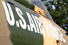 Markering för USA-flygvapen arkivbilder