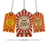 Markering voor verkoop Royalty-vrije Stock Afbeeldingen