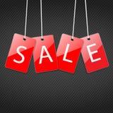 Markeringen voor verkoop Royalty-vrije Stock Foto