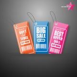 Markeringen voor verkoop Royalty-vrije Stock Afbeelding