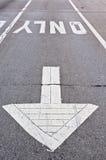 markeringstrottoar Royaltyfria Foton