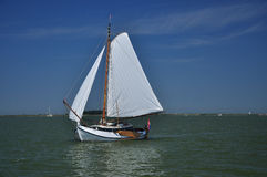 Markermeer, Holland. Saling boat Royalty Free Stock Image