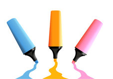 Markers Royalty Free Stock Photos