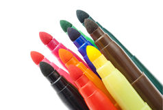 Markers. Royalty Free Stock Photography