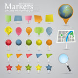 Markers Royalty Free Stock Photography