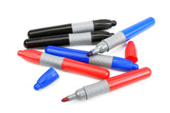 Markers Stock Photography