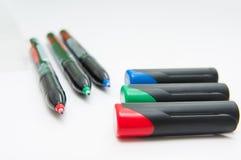 markers Fotos de archivo libres de regalías