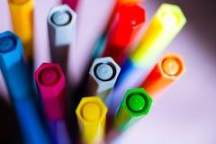 markers Fotografía de archivo libre de regalías