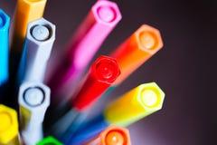 markers Foto de archivo
