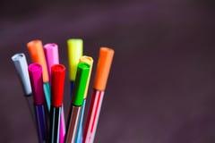 markers Foto de archivo libre de regalías