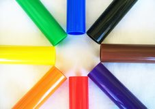 Markers Stock Photo