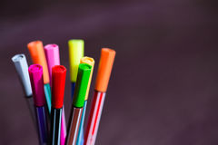 Markers Royalty Free Stock Photo