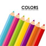 Markers design Royalty Free Stock Image