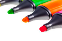 Markers Detail Royalty Free Stock Photos