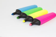 Markers. Picture shows a markers. Colorfull Royalty Free Stock Images