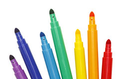 Free Markers Spread Stock Photography - 62460922