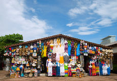Market. Place at Puerto Vallarta, Mexico Stock Photo